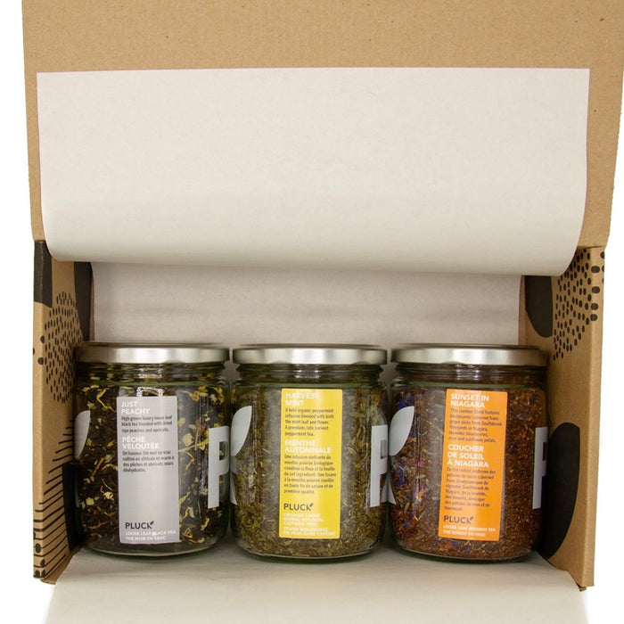 Build Your Own - Limited Edition Three Jar Loose Tea Set