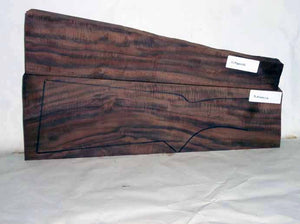 Claro Walnut Gunstock CLAGUN11A2
