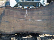 Walnut Slab WALSLB62B