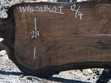 Load image into Gallery viewer, Walnut Slab WALSLB62I
