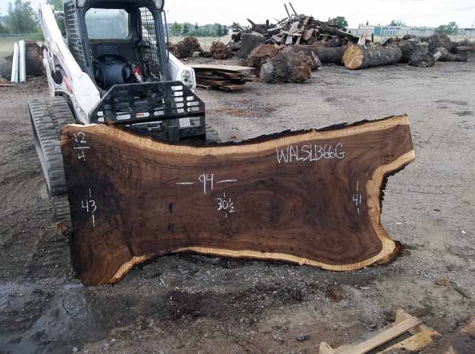 Walnut Slab WALSLB66G