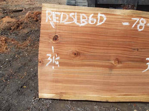 Redwood Slab REDSLB6D