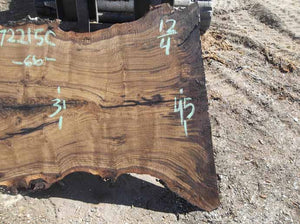 Walnut Slab WALSLB072215C