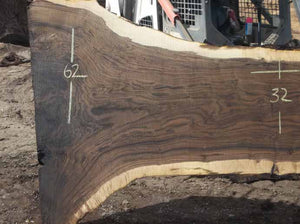 Walnut Slab WALSLB71B