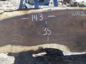 Walnut Slab WALSLB71A