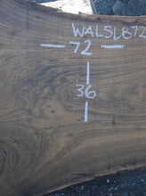 Load image into Gallery viewer, Walnut Slab WALSLB72C