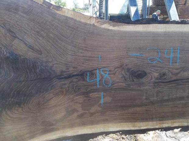 Walnut Slab WALSLB84H