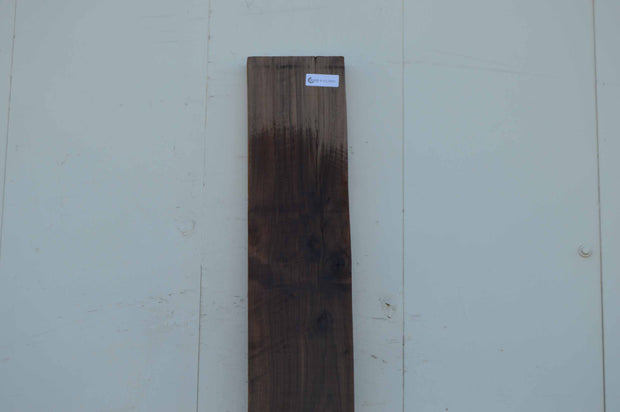 Rustic Furniture Knife Scale Shelf Dark Color Walnut Lumber WALLMB59