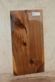English Rustic Art Knife Scale Wavy Figure Cool Color Walnut Lumber WALSPC569