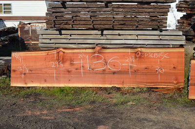 Redwood Slab REDSLB15C