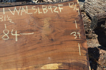 Load image into Gallery viewer, Walnut Slab WALSLB92F