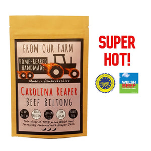 From Our Farm - Carolina Reaper Biltong