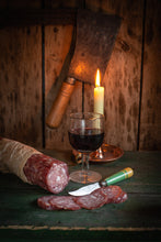Load image into Gallery viewer, Moons Green Port & Plum Saucisson - 250g Tube