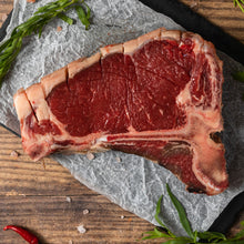 Load image into Gallery viewer, Isle of Wight Dry Aged T-Bone Steak - 16oz