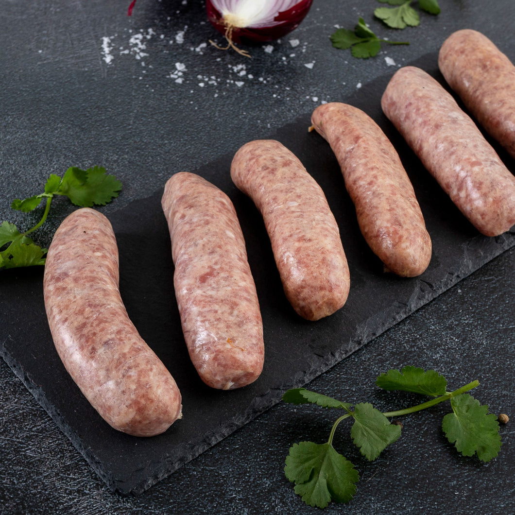 Grandpa's Recipe Pork Sausages