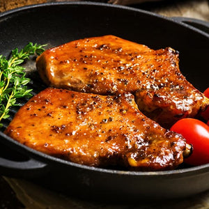 marinated pork steak meatbox