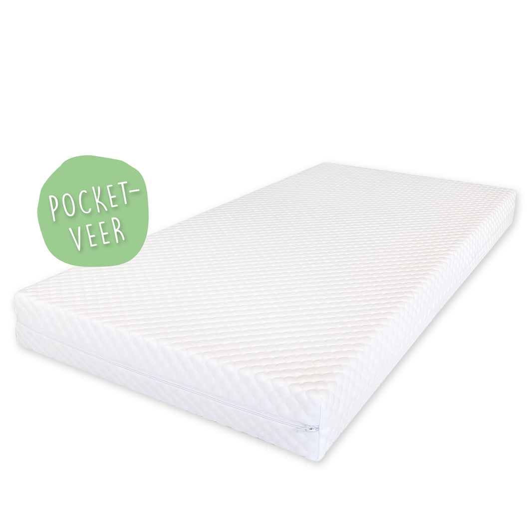 Pocketveer, matras, medium comfort