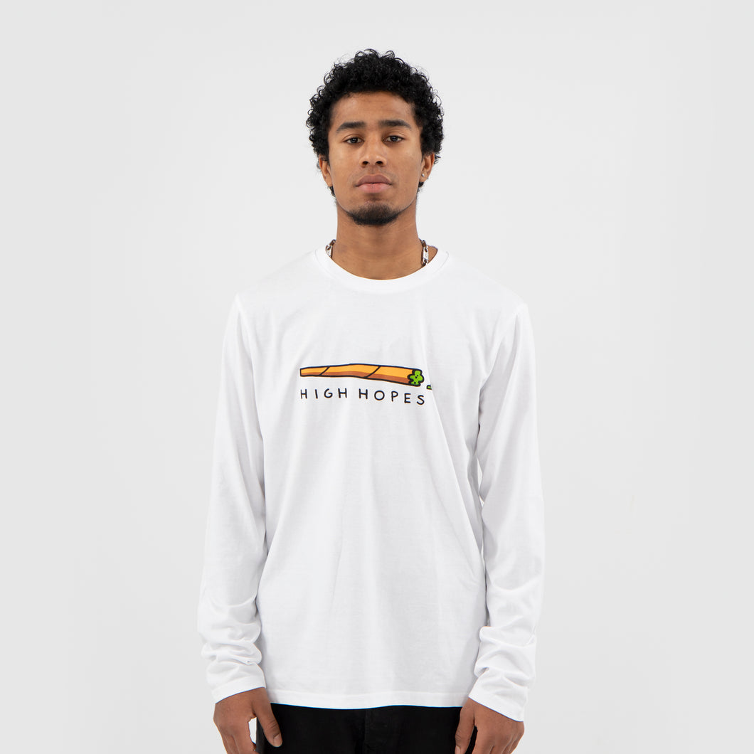 White Box Long Sleeve