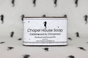 Cedarwood and Cinnamon Soap