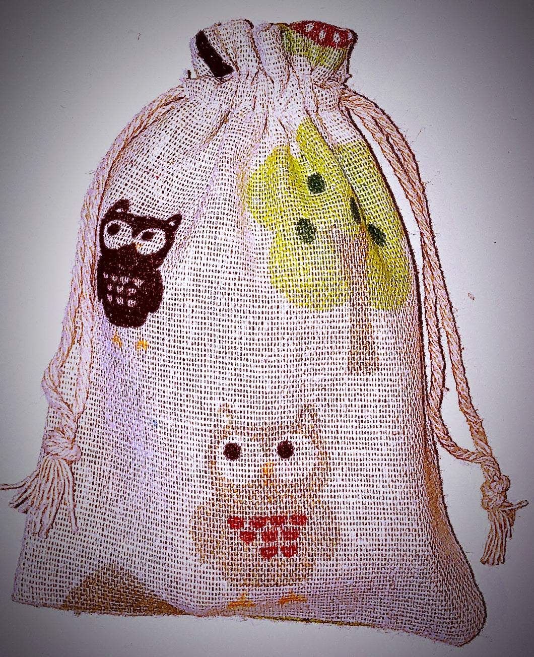 Woodland Creatures Soap Bag