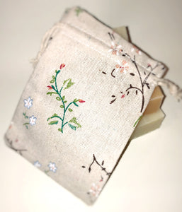 Woodland Flowers Soap Bag