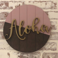 Hello or Aloha Sign