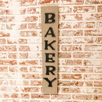 Tall Bakery Sign