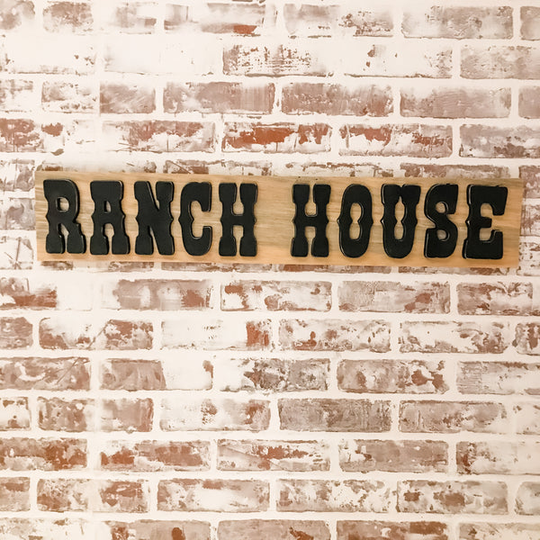 Ranch House Sign