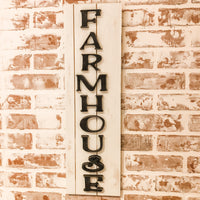 Tall Farmhouse Sign
