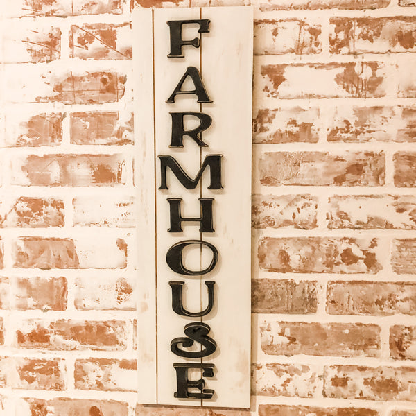 Fun Farmhouse Sign