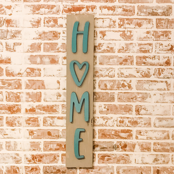 The Heart of Home Sign