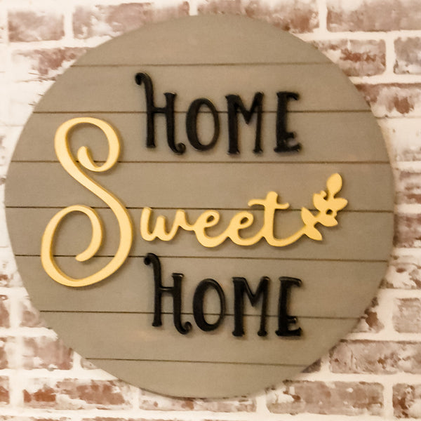 Busy Bees Home Sweet Home