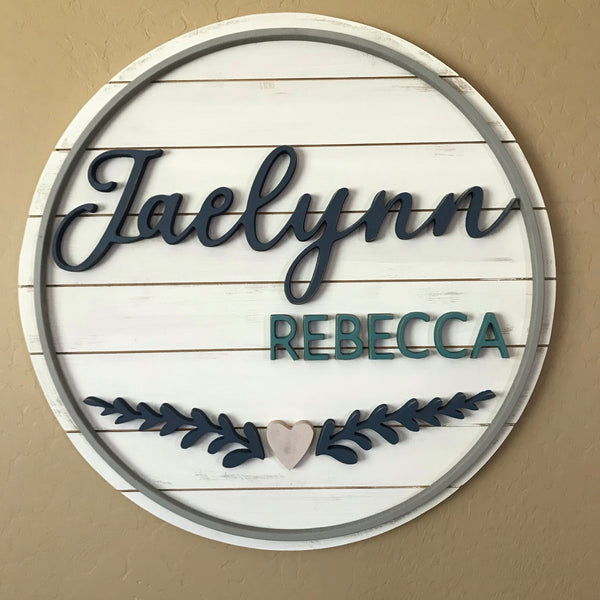 The Forever My Daughter Name Sign