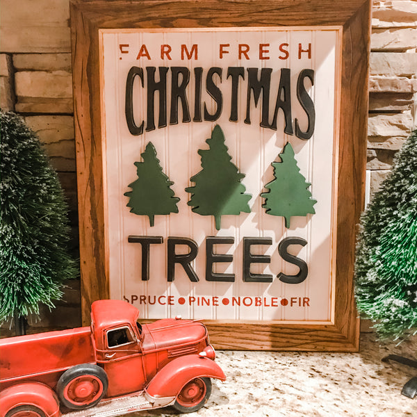 Christmas Tree Farms Sign