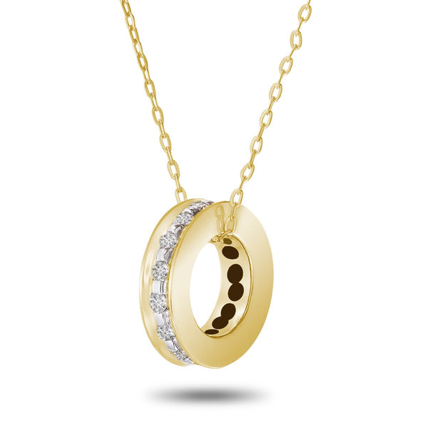 Golden Roller Necklace