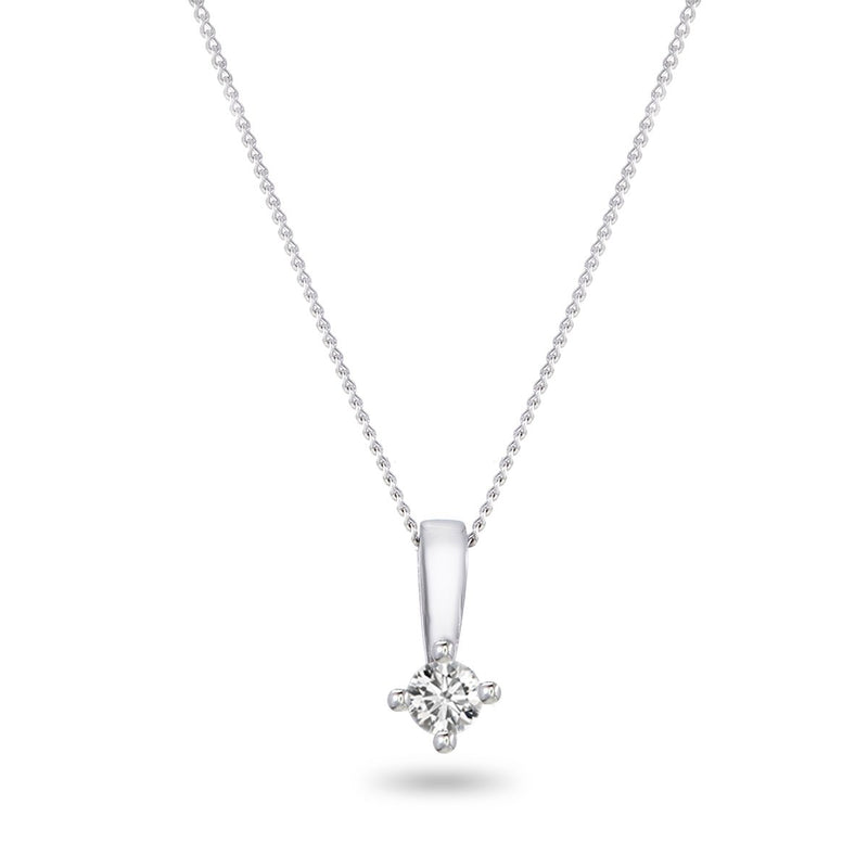 Diamond Point Necklace