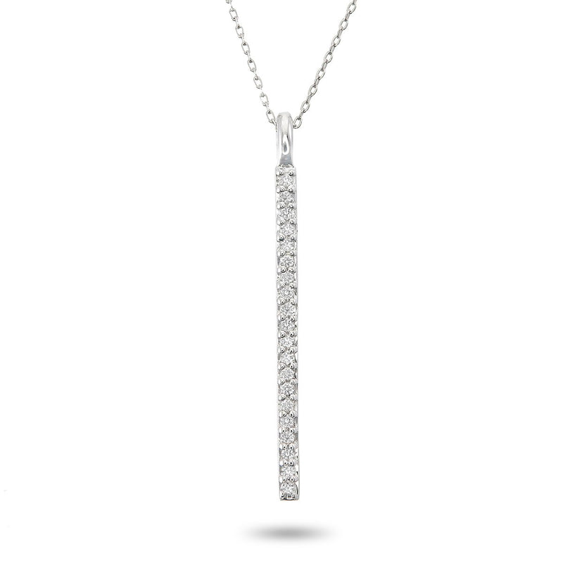 Vertical Diamonds Necklace