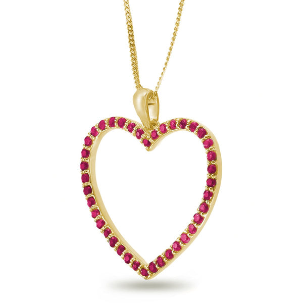Ruby Love Necklace