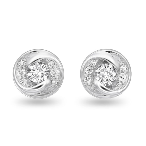 Infinite Whirl Diamond Studs