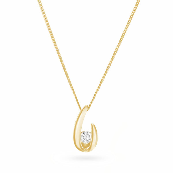 Golden Oyster Necklace