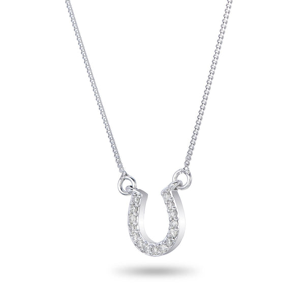 Horseshoe Pendant Necklace
