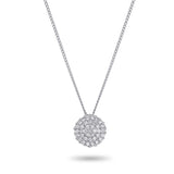 Full Circle Diamond Necklace