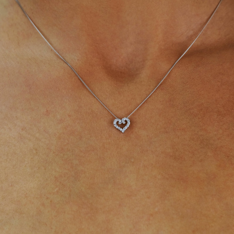 Whimsy Heart Necklace