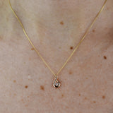 Asymmetrical Infinity Necklace