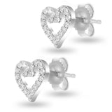 Whimsy Heart Studs