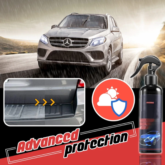 SPRAY RESTAURADOR PARA CARROS.