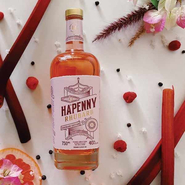 Wooden Cork Hapenny Rhubarb Christmas Serve Wooden Cork