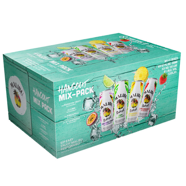 Malibu Splash Hangout Mix 8pk