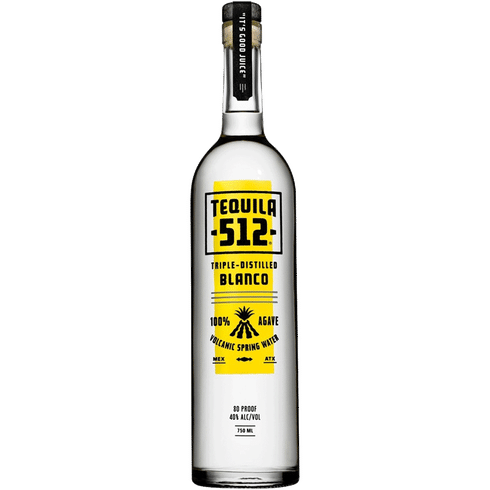 Tequila 512 Blanco - Available at Wooden Cork