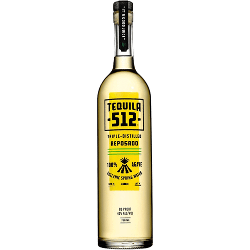 Tequila 512 Reposado - Available at Wooden Cork